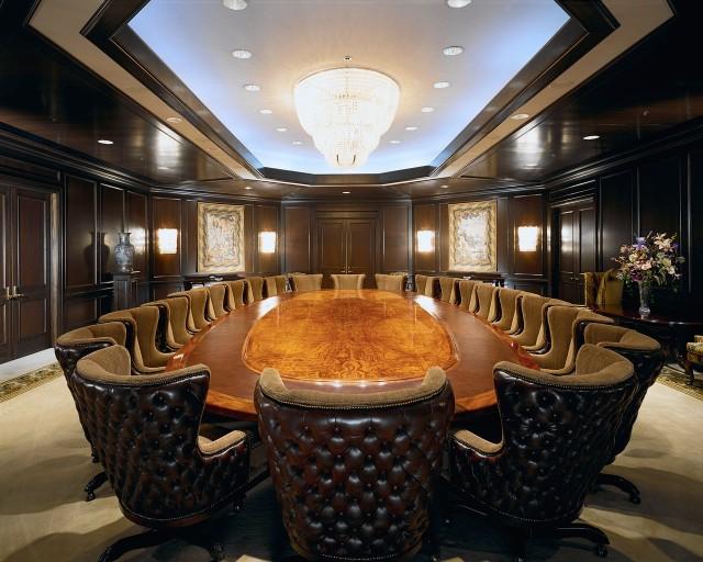 Formal Corporate Meeting Room