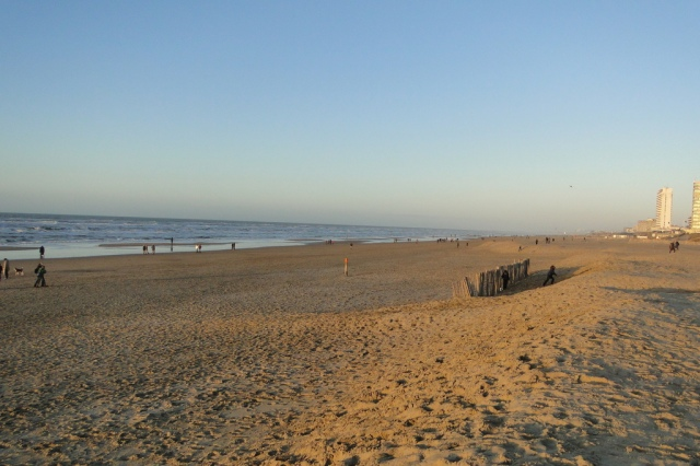 The beach at Zandvoort