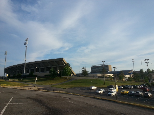 Milan Puskar football stadium of WVU