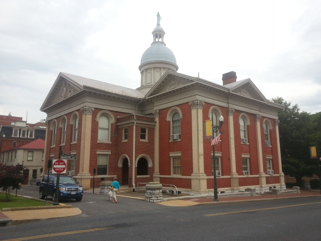 Augusta County Circuit Court in Staunton