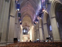 The inside of the Cathedral