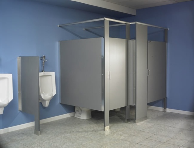 Not so private American toilets - and these are certainly not the worst!